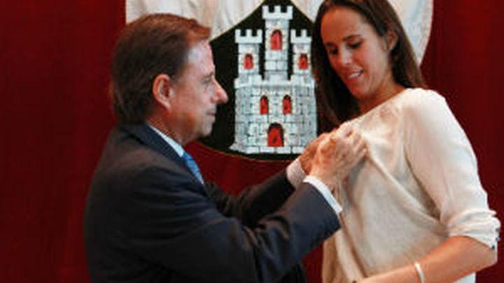 Amaya Valdemoro, nombrada Hija Predilecta de Alcobendas