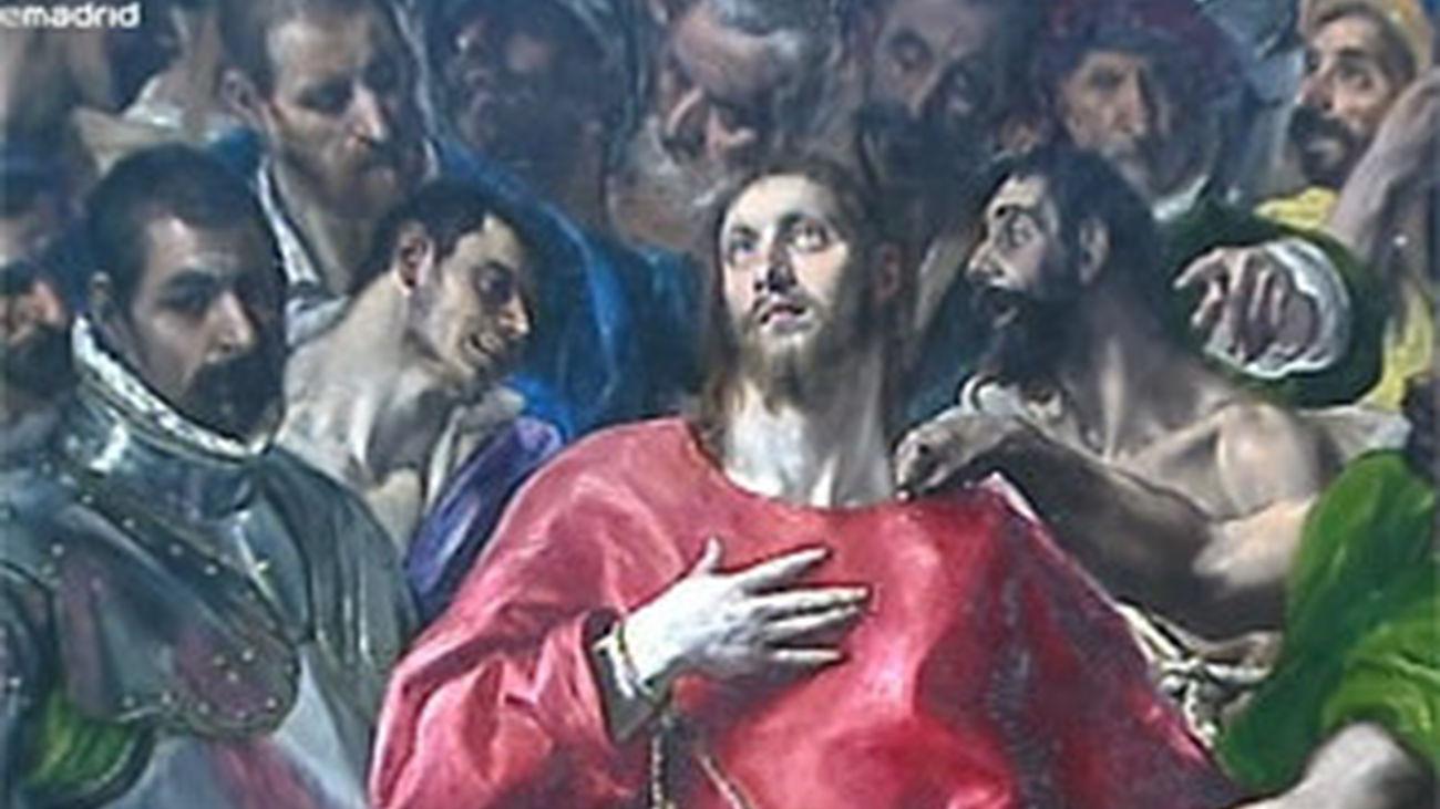El Museo del Prado presenta 'El Expolio' del Greco restaurado