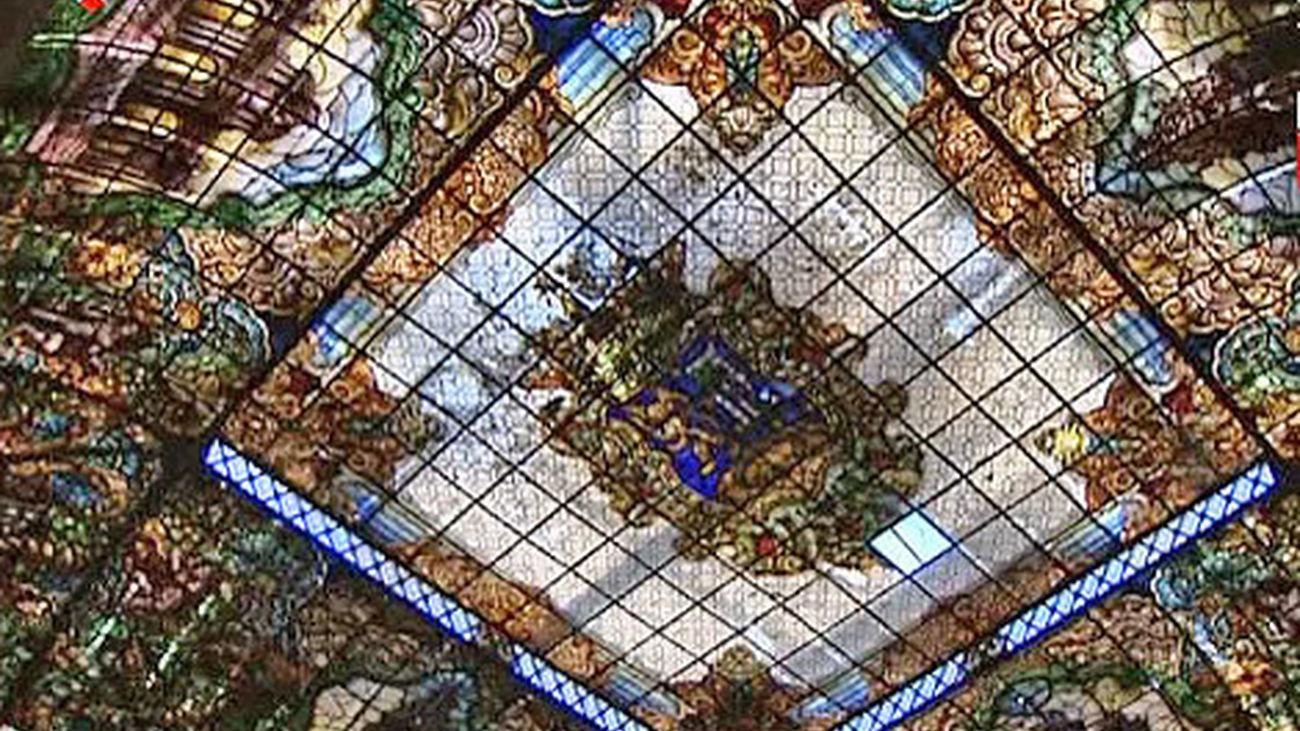 El Ayuntamiento restaurará la vidriera del Patio de Cristales de la Casa de la Villa