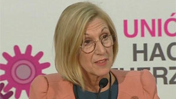 Rosa Díez retoca la dirección de UPyD y nombra a Herzog su mano derecha