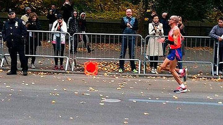 Chema Martínez completó su último maratón