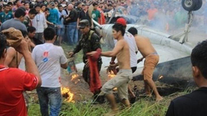 Fallecen ocho personas tras un accidente de avión en Bolivia