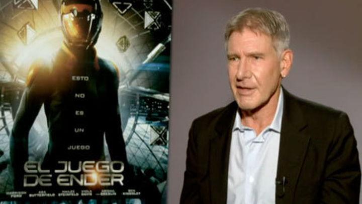Harrison Ford es un estricto coronel en 'El juego de Ender'