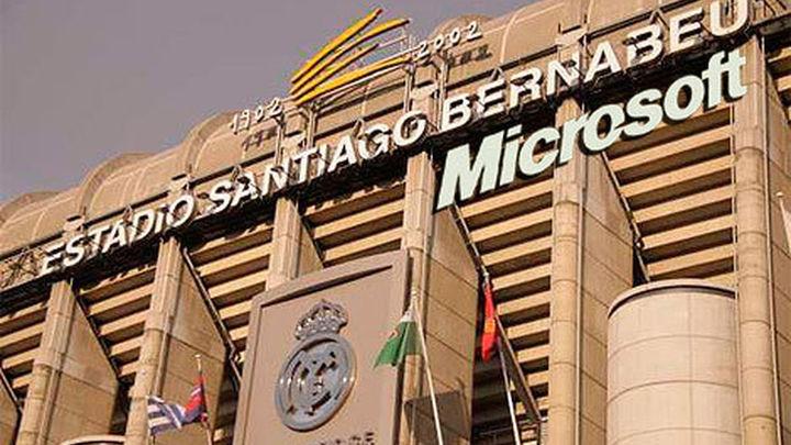 El Real Madrid negocia con Microsoft el patrocinio del Bernabéu