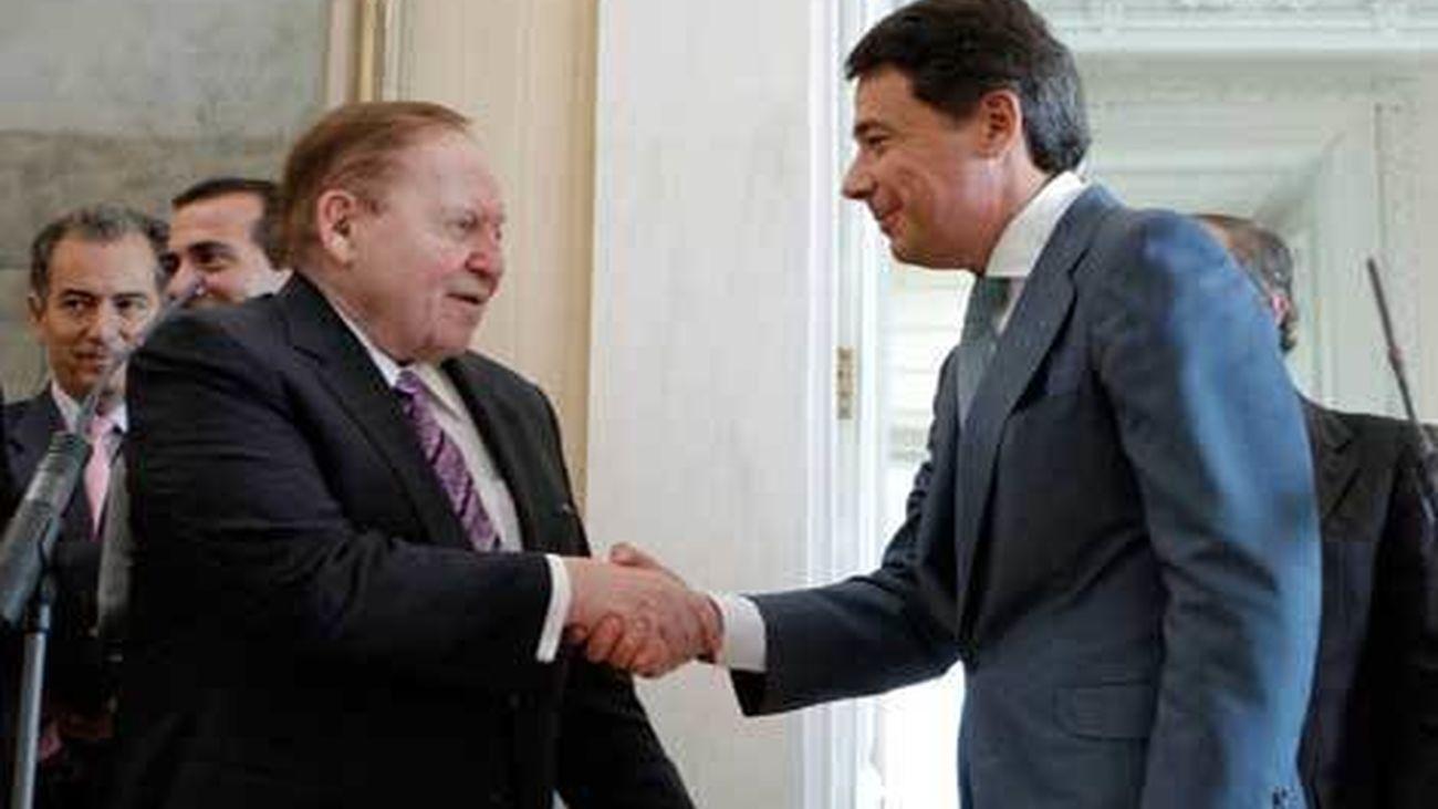 Adelson e Ignacio González