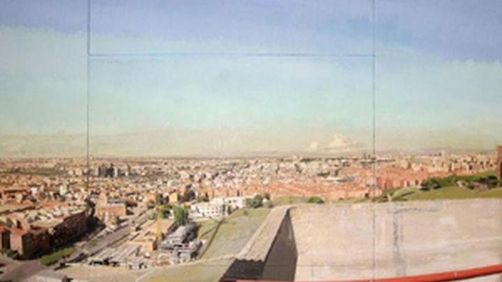 El cuadro 'Madrid desde Vallecas' de Antonio López vuelve a la Asamblea