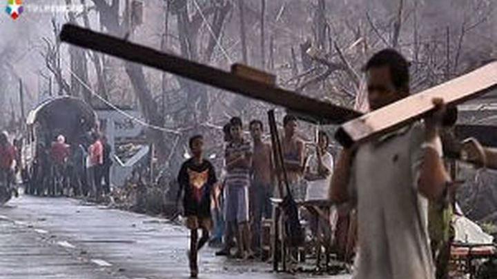 Soldados y especialistas de medio mundo ayudan a las víctimas de Filipinas