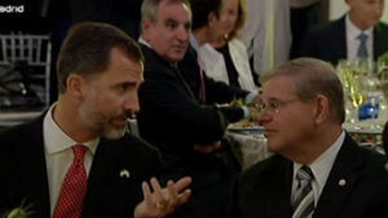 El Príncipe Felipe anima a los inversores de EEUU a mirar hacia España