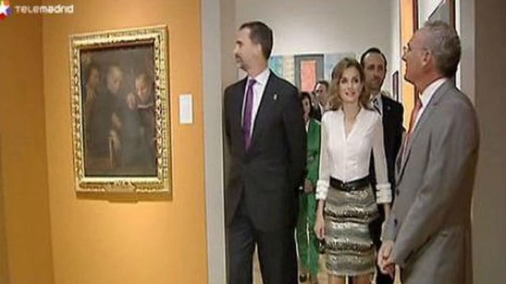 Los Príncipes de Asturias dejan California agasajados entre incunables