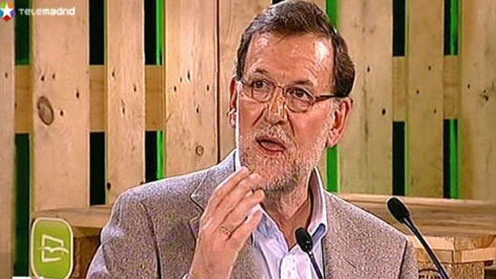 """Rajoy: """"El futuro de España lo escribiremos entre todos los españoles"""""""