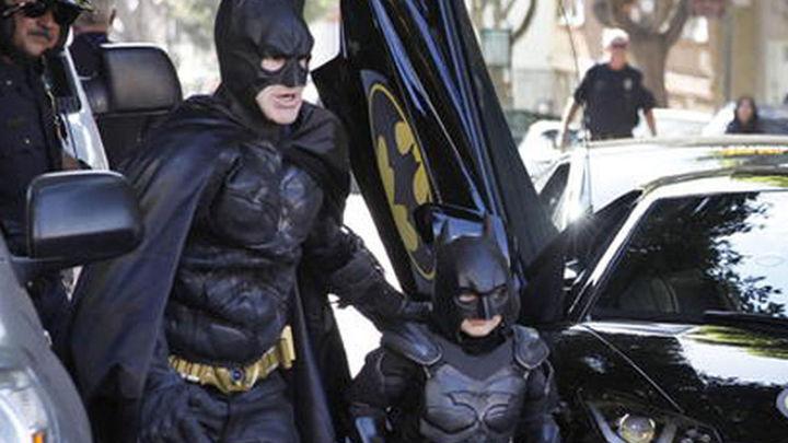 Batman por un día: el sueño cumplido de un niño de 5 años con leucemia