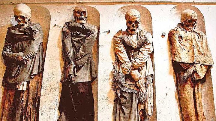 Muerte y misticismo se unen en las catacumbas de Palermo