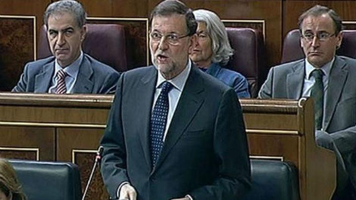 """Rajoy dice que sus políticas """"empiezan a dar resultados"""" en su 2º aniversario electoral"""