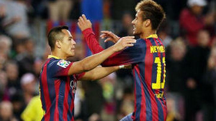 4-0. El Barça no acusa las bajas ante el Granada
