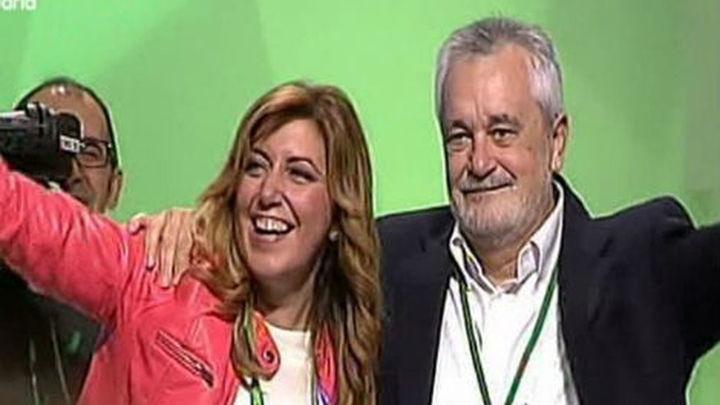 Susana Díaz, elegida secretaria general del PSOE andaluz sin votos en contra