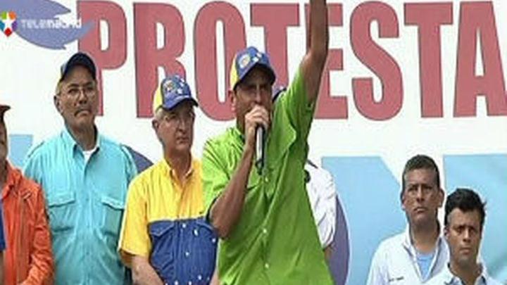 Capriles dice que el fin de Maduro no admite atajo inconstitucional