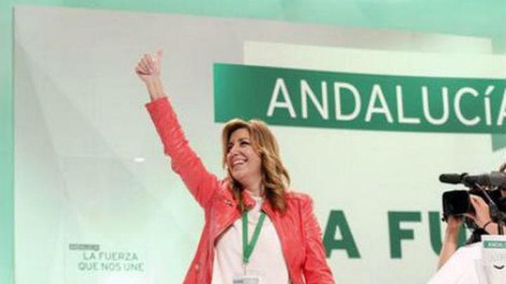 Susana Díaz abre en Andalucía el camino de un cambio generacional en el PSOE