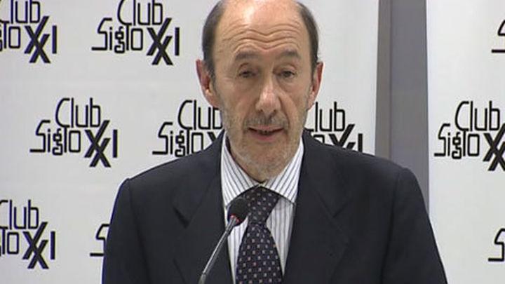 Rubalcaba: la renovación generacional se decidirá en las primarias