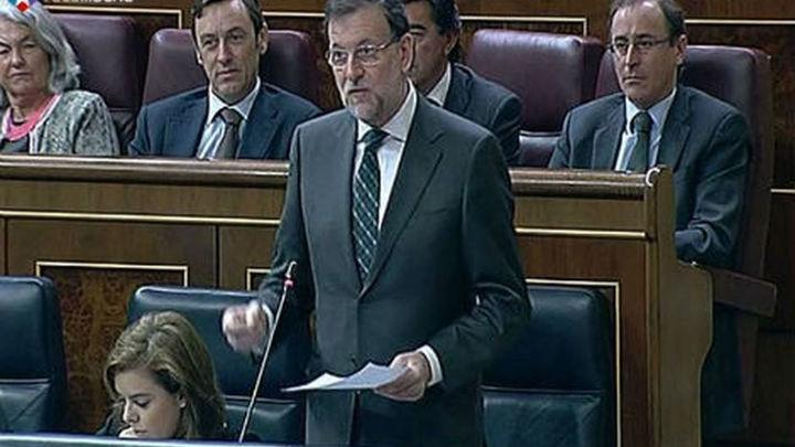 Rajoy dice que este año no se ha reducido el empleo pese a la recesión