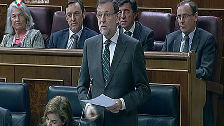 Rajoy recrimina a Amaiur que no pida la disolución de ETA, ni condene su historial criminal