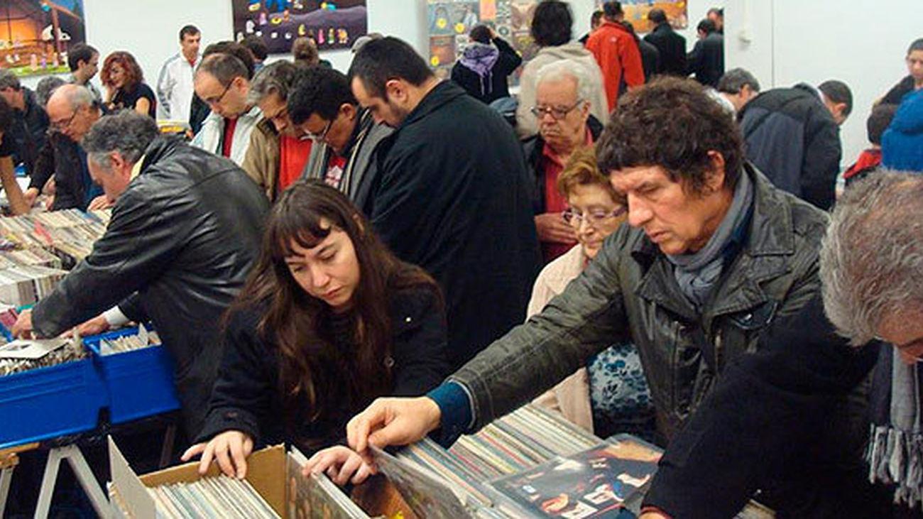 La Feria del Disco, Discomarket, en Arganzuela