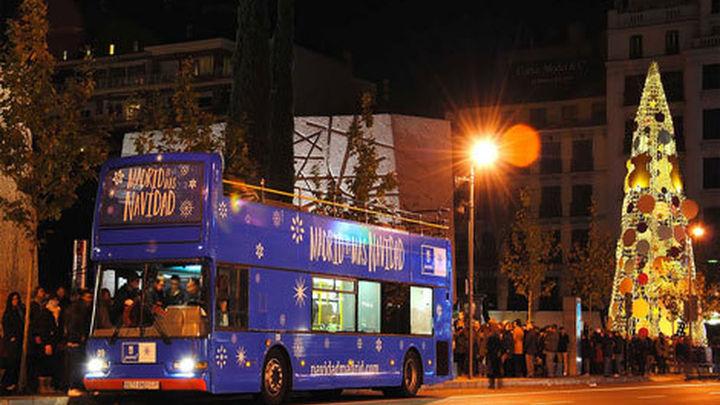 El 'Navibús' comienza a circular por las calles de Madrid