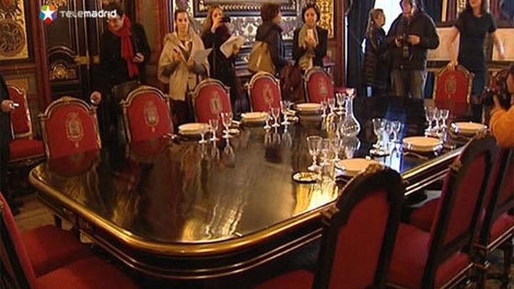 El Palacio de Linares recupera la lujosa Navidad del siglo XIX