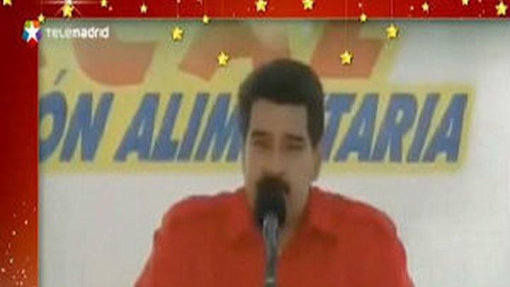 Maduro suplanta a Papa Noel en un villancico