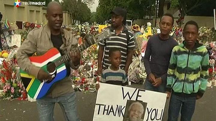 Sudáfrica lista para los funerales de Mandela
