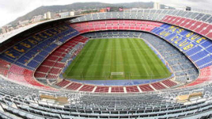 Camp Nou, final de la Copa del Rey