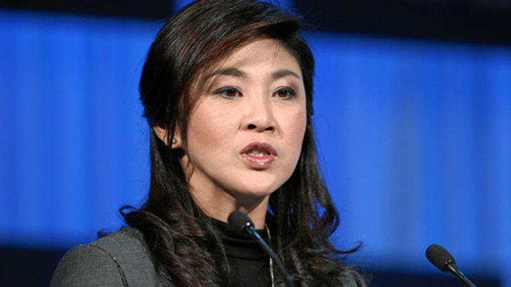 La primera ministra de Tailandia pide que terminen las protestas