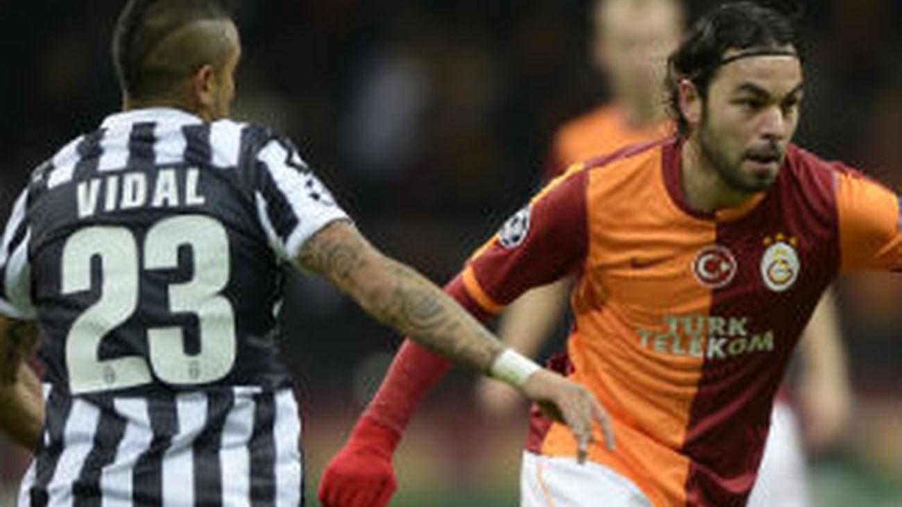 1-0. El Galatasaray deja fuera a la Juventus de los octavos