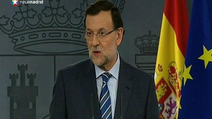 """Rajoy: """"No se va a celebrar la consulta en Cataluña, es inconstitucional"""""""
