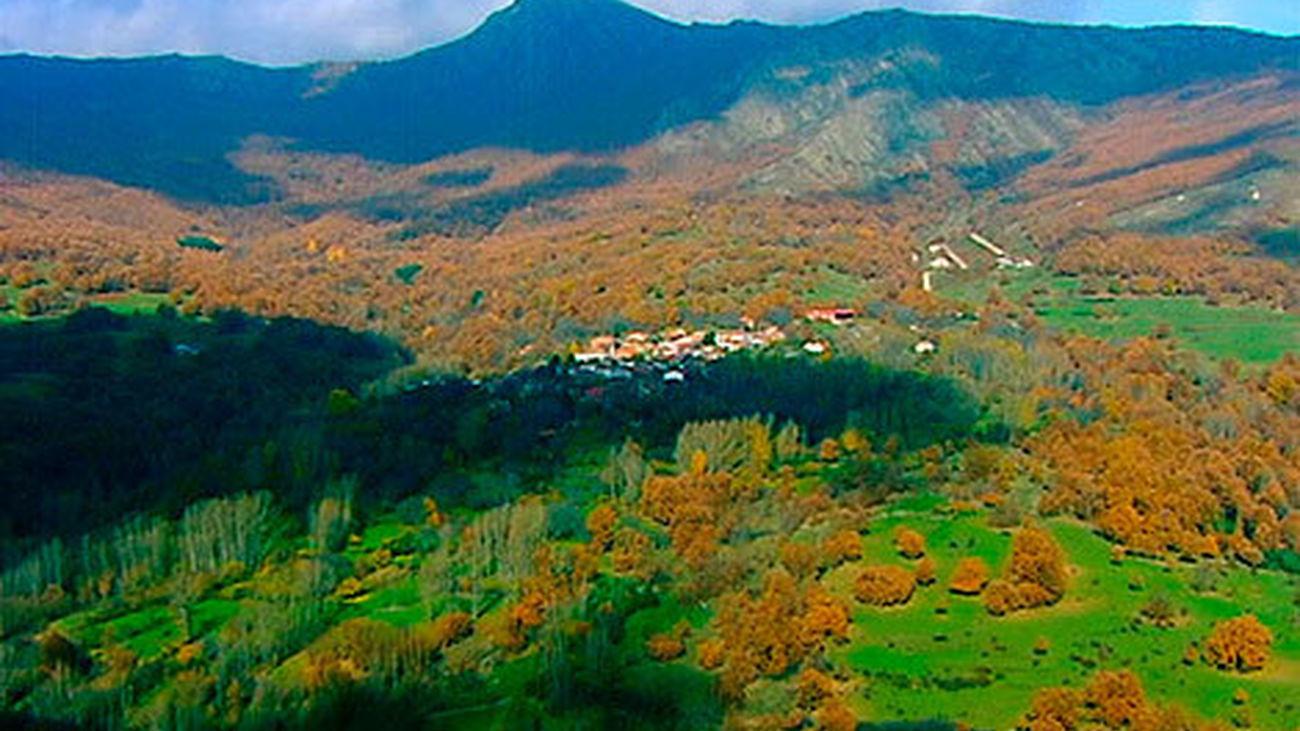 Madrid desde el aire: los colores del otoño