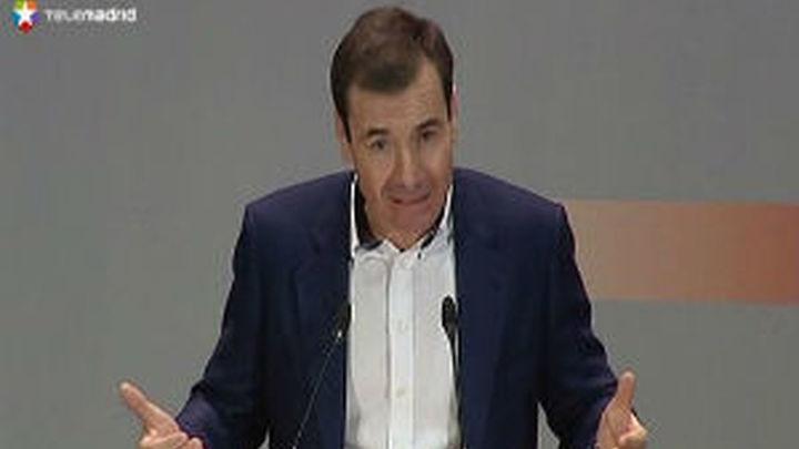 """Tomás Gómez: """"Con Eurovegas alimentaron de falsas esperanzas a los parados"""""""