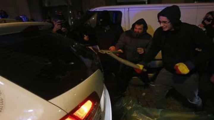 En libertad 6 de los 7 detenidos tras la concentración ante el Congreso