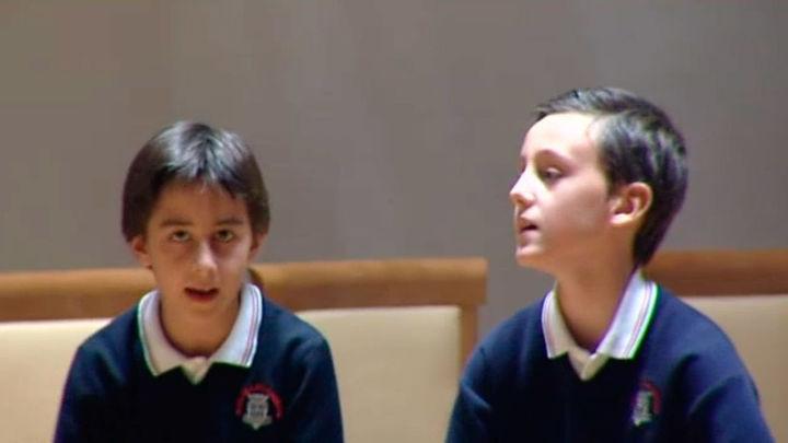 Los alumnos del colegio Tajamar ganan el I Concurso Escolar de Villancicos