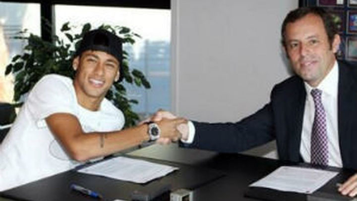 El Barça da a Ruz los contratos de Neymar para ver si admite la querella contra Rosell