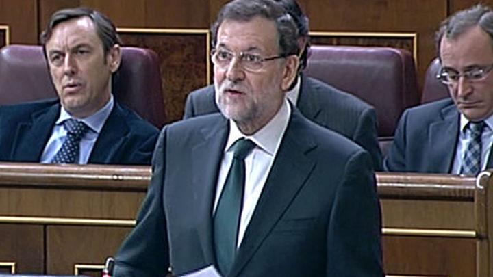Rajoy y Rubalcaba escenifican su rechazo a la consulta catalana