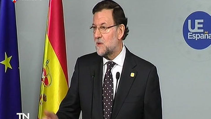 """Rajoy se declara """"satisfecho"""" por los avances en la unión bancaria"""