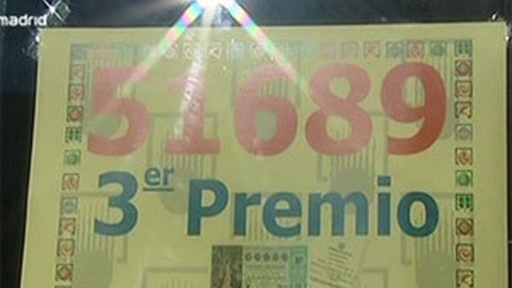 El 51.689, tercer premio, deja 1,5 millones en Madrid