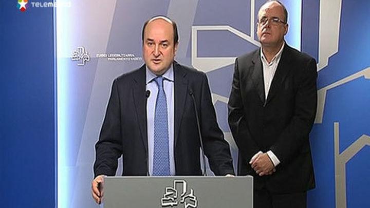 El PNV propone trabajar en un nuevo estatus político para el País Vasco