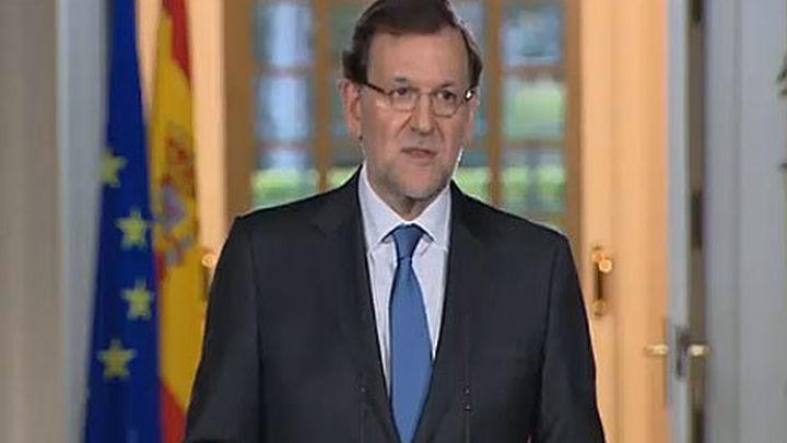 Rajoy agradece el esfuerzo de los españoles en una etapa difícil