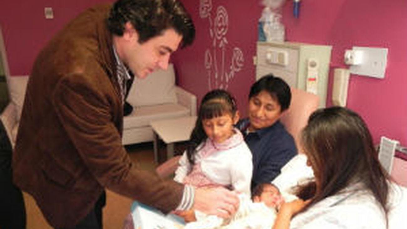 Aitana, primer bebé de 2014