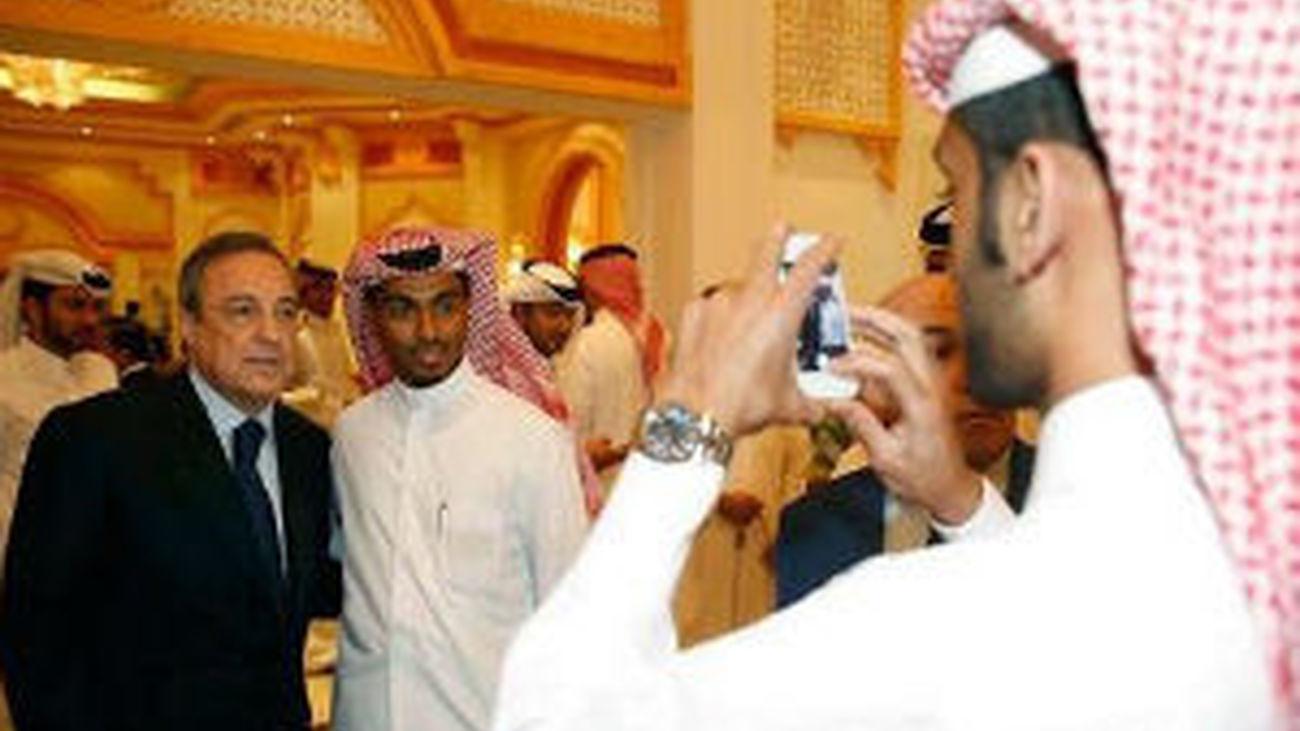 El Real Madrid, en Doha