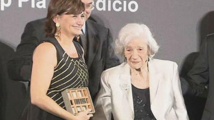 Carmen Amoraga gana el Nadal tras haber sido finalista de Nadal y Planeta