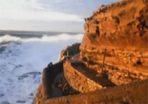 Golpe del mar en Biarriz