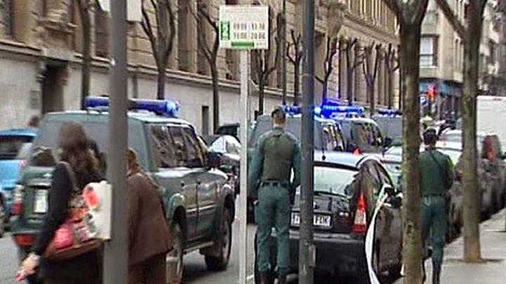 Ocho detenidos en la operación contra el grupo de enlace con presos de ETA