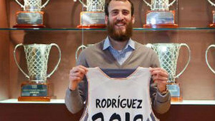 Sergio Rodríguez renueva hasta el 2018
