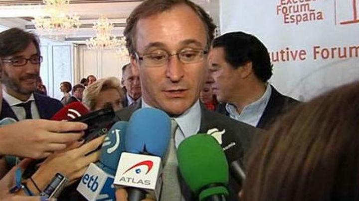 """Alfonso Alonso: """"Con la actual situación del PSOE, estamos más cerca de nuevas elecciones"""""""